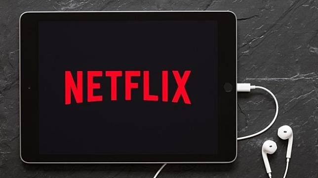 Logo Netflix di sebuah tablet. [Shutterstock]