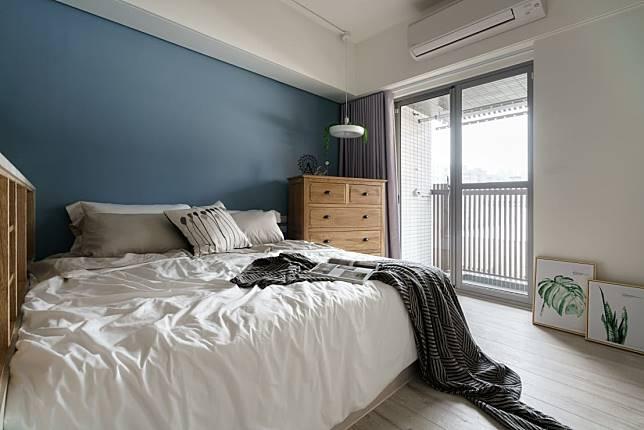 臥室設計實例四:半開放式的設計