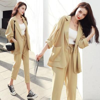 韓系時尚OL個性感覺油然而生 這件套裝絕對值得入手