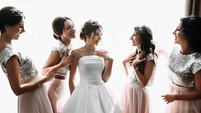 Ilustrasi pengantin perempuan. (Shutterstock)