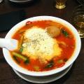 太陽のチーズラーメン - 実際訪問したユーザーが直接撮影して投稿した西新宿ラーメン専門店太陽のトマト麺withチーズ 新宿ミロード店の写真のメニュー情報