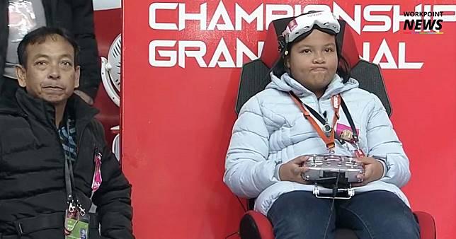 """""""มิลค์ หน้านิ่ง"""" คว้าแชมป์โลกโดรนเรซซิ่ง สมัยที่ 2"""