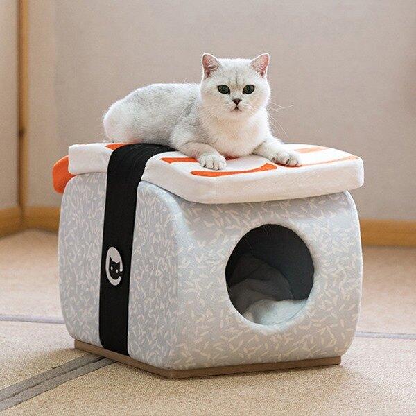 貓窩 日式壽司椅凳窩 鮮蝦壽司/鮭魚壽司/玉子燒壽司