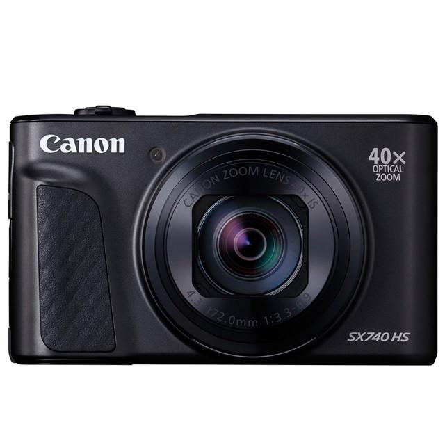 Canon PowerShot SX740 HS 公司貨 •40倍光學變焦(24-960mm) •內建3.5級快門穩定效果的光學影像穩定器 (IS) •支援4K UHD錄影(120Mbps位元率)及「