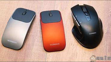 WONDER 旺德AI無線語音打字翻譯滑鼠 開箱、動手玩:支援26種語言,辦公打字用講的!