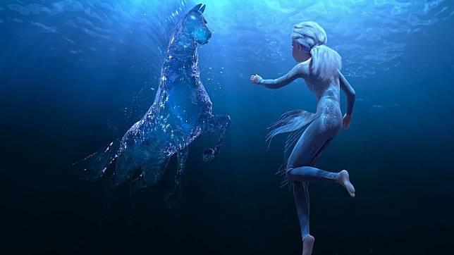 愛莎將遇到水靈諾克等「自然之靈」。(互聯網)