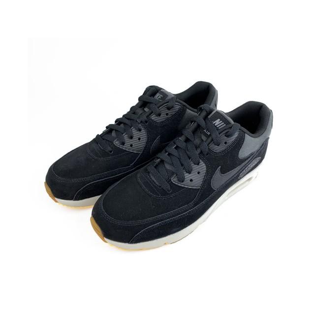 812【NIKE 耐吉】AirMax 90 Ultra 氣墊 休閒鞋 運動鞋 男鞋(黑 924447003)