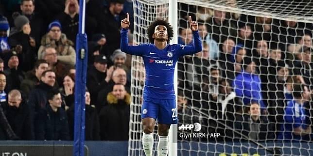 Di Tengah Isu Barca Willian  Akan Tambah Kontrak di Chelsea
