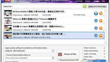 ChrisPC Free VideoTube Downloader 免費YouTube 桌面版下載工具(支援絕大多影音網站)
