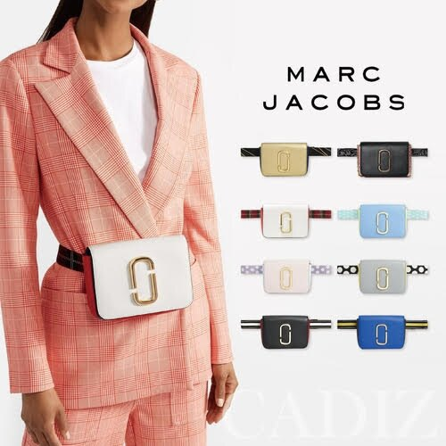 預購 美國正品 Marc jacobs Hip Shot Bag 時尚多色牛皮側背腰包 M0014102