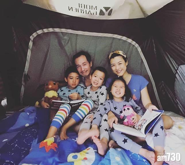 【另類體驗】陳茵媺家中搭營camping 大仔有微言