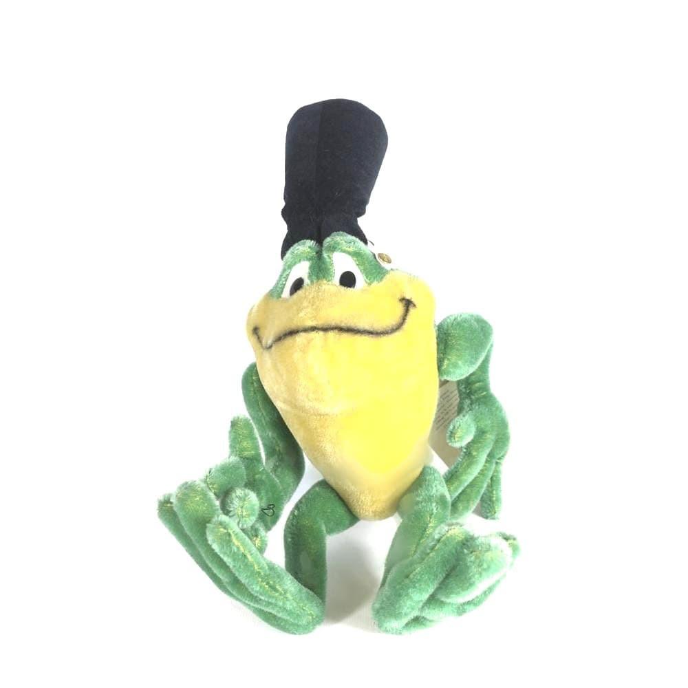 FROGMJ青蛙金耳扣白標限量-steiff