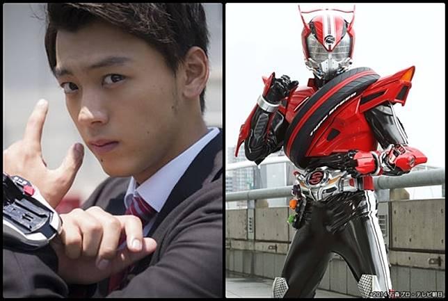 人氣美男竹內涼真,他也是飾幪面超人Drive而開始光明的星途。(互聯網)