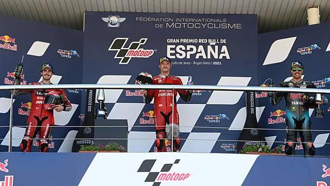 Jack Miller menangi MotoGP Spanyol di sirkuit Jerez (AFP)