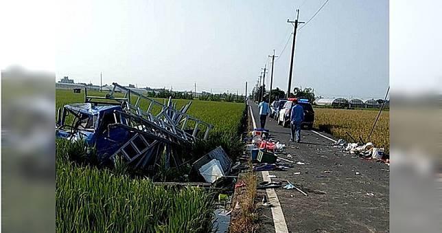 嘉義重大車禍 2人拋飛車外與天搶命中