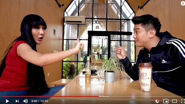 Lucinta Luna dan Boy William [YouTube/Boy William]