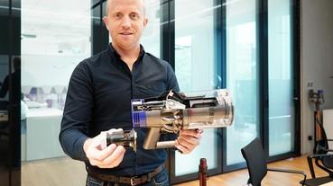 為什麼Dyson 新款無線吸塵器不做抽換式電池?專訪 Dyson 吸塵器工程主管解析產品背後的研發秘辛