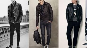 冬天皮衣該怎麼穿 型男們告訴你!
