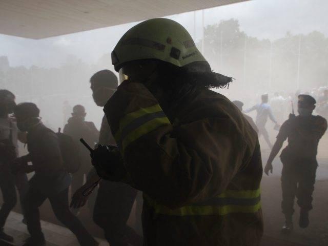 Thamrin City Kebakaran, Lapak Pedagang Baju Ludes Terbakar
