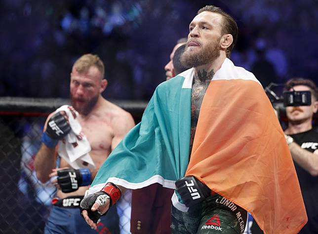 UFC: Conor McGregor says Khabib Nurmagomedov rematch is 'inevitable' and his shape since first fight is 'incomparable'