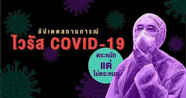 อัปเดตสถานการณ์ ไวรัส COVID-19 ตระหนักแต่ไม่ตระหนก