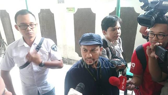 Dokter Tompi hadir sebagai saksi dalam lanjutan persidangan Ratna Sarumpaet dalam perkara berita bohong yang menyebabkan keonaran di Pengadilan Negeri Jakarta Selatan, Selasa 23 April 2019. TEMPO/TAUFIQ SIDDIQ