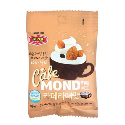 韓國 MURGERBON-咖啡拿鐵杏仁果