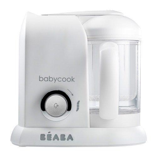 【愛吾兒】法國 BEABA 嬰幼兒副食品調理器(白銀)
