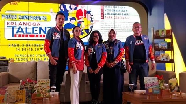 Pembukaan Erlangga Talent Week 2019. (Suara.com/Risna Halidi)