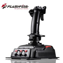"""◎4軸29按鍵 ◎X/Y軸/方向舵及節流閥可調整精準度 ◎板機設計""""防觸發""""功能商品名稱:FlashFireCOBRAV6飛行格鬥專業飛行搖桿品牌:FlashFire富雷訊種類:電玩週邊類型:控制器適"""