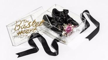 太美啦!台灣才有! PUMA BASKET HEART 蝴蝶結鞋 客製化精裝禮盒 限量開放預購中!