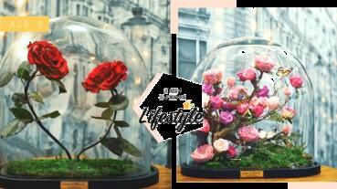 女生們絕對想收到的超浪漫「永不凋謝玫瑰花」~想當公主的心要爆發了呀!
