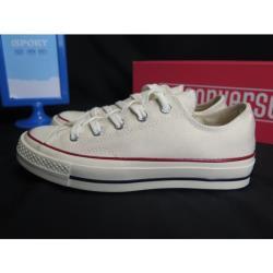 ◎.型號:162062C ◎. Converse 1970 三星標 ALL STAR 帆布鞋 米白色 ◎.帆布鞋定位:運動品牌品牌:CONVERSE適用性別:男生,女生款式:帆布鞋尺寸:22cm,22