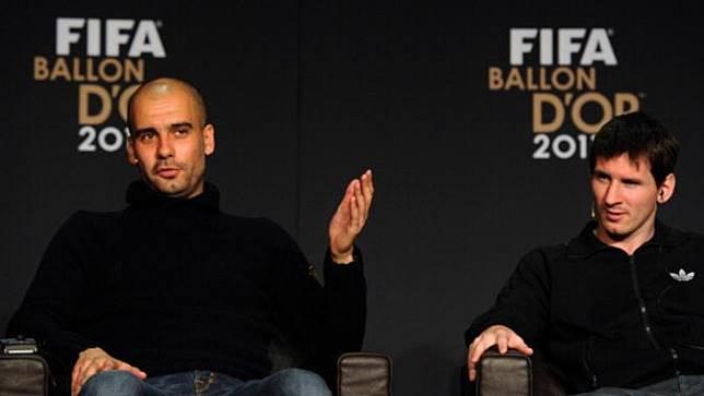 Guardiola Risau Mencuatnya Kemungkinan Messi Tinggalkan Barcelona