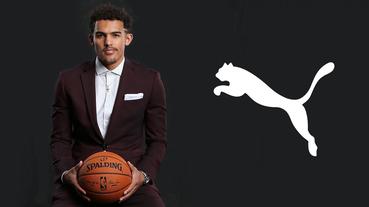 新聞分享 / 積極展開網羅行動 PUMA 期望與潛力新秀 Trae Young 一同打入籃球市場