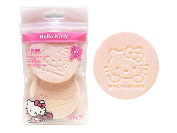 帕瑞詩~Hello Kitty化妝粉撲(2入)【D904771】三麗鷗授權,還有更多的日韓美妝、海外保養品、零食都在小三美日,現在購買立即出貨給您。