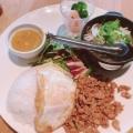 ランチプレート - 実際訪問したユーザーが直接撮影して投稿した西新宿タイ料理マンゴツリーカフェ 新宿の写真のメニュー情報