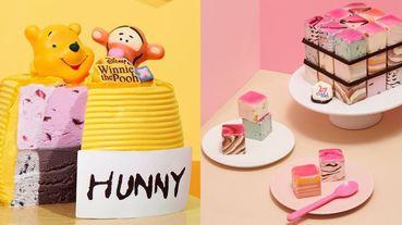 維尼蜂蜜罐蛋糕太療癒~韓國「31冰淇淋」推出一系列雪糕生日蛋糕超消暑,吃完還可以變玩具!