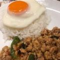 AガイガパオBF - 実際訪問したユーザーが直接撮影して投稿した西新宿タイ料理スクンビット ソイ55 新宿三井ビル店の写真のメニュー情報