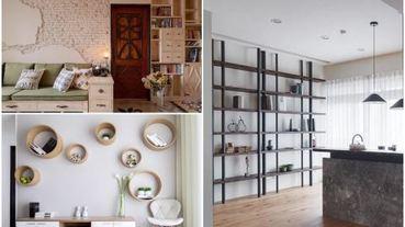 美感與機能兼具, 12 種精彩牆面收納 X 展示實例