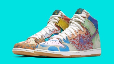 新聞分享 / 藝術風格注入 Nike SB Dunk High Premium 'What The' 即將登場