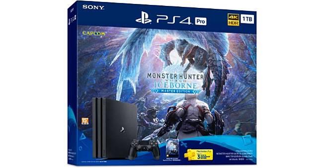 《魔物獵人世界:ICEBORNE》PS4 Pro同捆機9月限量開賣,附贈特典「結雲」裝備