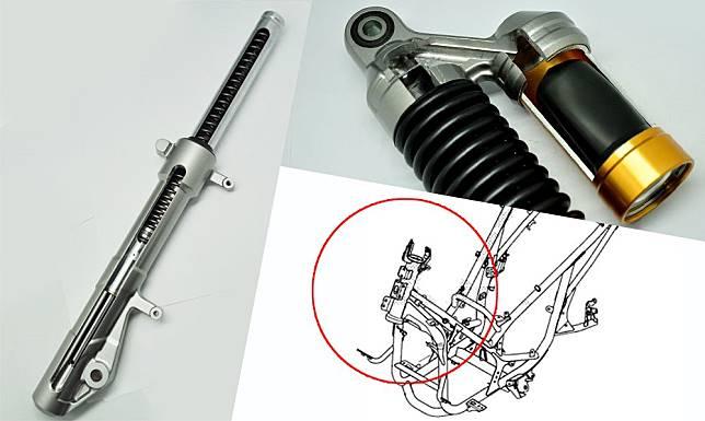Ini detail perbedaan sasis ADV 150 dan PCX 150