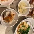 汁なし坦々麺セット - 実際訪問したユーザーが直接撮影して投稿した西新宿四川料理四川料理 天府舫の写真のメニュー情報