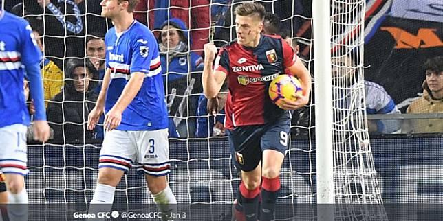 Godaan Diskon Genoa agar AC Milan Beli Krzysztof Piatek, Bukannya Pinjam