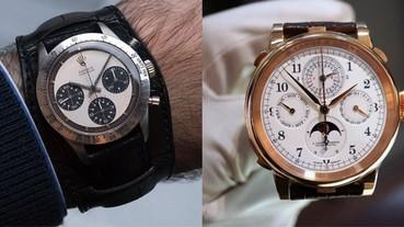 10 支全球最貴手錶 Rolex、Daytona 都有份