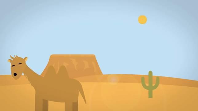 Namanya sudah gurun, pasti tempatnya panas. Ada yang berminat pergi kesini?