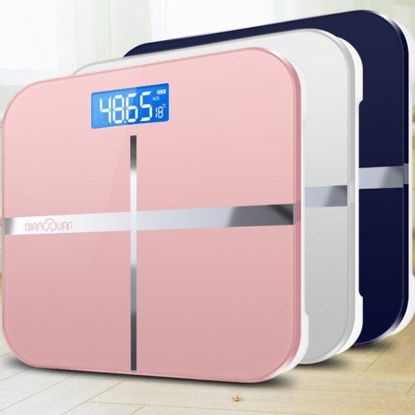 千選電子體重秤精准家用健康稱測人體儀成人減肥秤小型女器稱重計