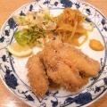 フライ定食 - 実際訪問したユーザーが直接撮影して投稿した新宿懐石料理・割烹新宿割烹 中嶋の写真のメニュー情報