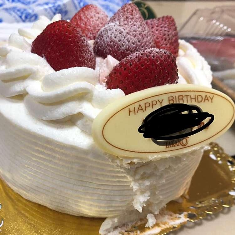 ユーザーが投稿したストロベリーショートケーキの写真 - 実際訪問したユーザーが直接撮影して投稿した新宿ケーキ新宿高野 ルミネエスト店の写真
